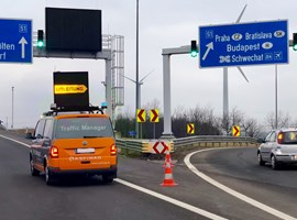 Traffic Manager Auto mit Earlywarner